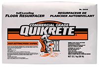 Quikrete 174 Fast Setting Self Leveling Floor Resurfacer