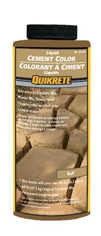QUIKRETE® Cement Colour – Buff – Target Products Ltd.