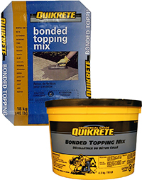 Quikrete Bonded Topping Mix Target Products Ltd